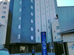 本日から2泊する「コンフォートホテル伊勢」でございます。一昨年通っていたときには、建設中でした。
