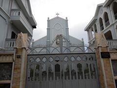 ダナン大聖堂の裏手