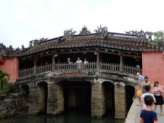 ホイアンの旧市街に到着です。まずは日本橋を観ないと。
