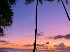 私にとっての Hawaiiの楽しみは  毎日見るサンセット
