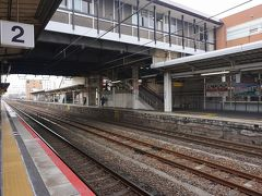 ●JR近江八幡駅  お腹も満足。 冬の18切符旅、終了です~。