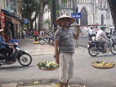 ◆旧市街をグルグル~ちょこっとハノイ 2008/10/11 - 2008/10/12  https://4travel.jp/travelogue/10280627  ルアンパバーンへ行く前にハノイにトランジット。 同日乗り継ぎできなかったので・・・  今回は旧市街で天秤かついでひと稼ぎです(^^♪