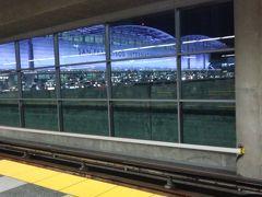 サンフランシスコ国際空港 TRAIN STATION