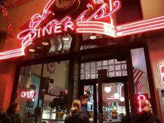 Dinersレストラン テイクアウト ハンバーガー&チップス&ドリンク 15ドル