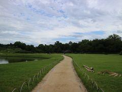 奥には岡山城が見えます。 岡山城にも行ってみたいですねぇ。
