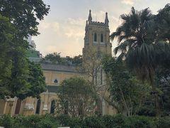 聖ヨハネ座堂に迷いこみました。オフィス街にあって隣の長江公園も静かで癒し系です。
