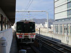 姫路から播磨新宮までは、姫新線の普通列車で移動。 車輌は最新鋭のキハ127系気動車の2両編成。