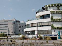 第一京浜からみなとみらい大通りを行くと、右手に見える横浜駅東口にあるそごうと商業施設の横浜ベイクウォーター  一部店舗を除いて臨時休業中