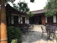 金浦到着後は仁寺洞のカフェめぐりへ