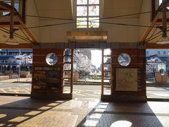 翌日(4月4日)、朝8時30分。再び高田駅へ。