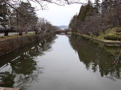 米沢城の壕