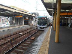 京阪京津線(大津線)京阪山科駅です。