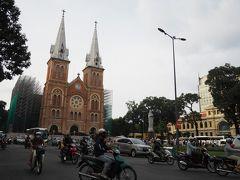 サイゴン大教会の方へ戻ってきました。