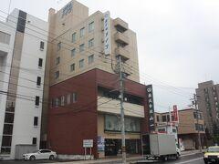 ホテルメイツ旭川。 ホテルで朝食を済ませ、8時35分にチェックアウトしました。 雨は上がっていましたが、とても蒸し暑かったです。
