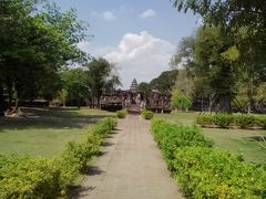 クメール遺跡で有名なピマーイ。 タイのアンコールワットとも言われているようです。