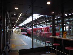 名鉄の駅へ