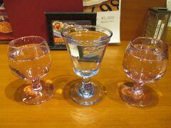 600円の広島飲む比べ。 左からいい風、老亀(おいがめ)、桜吹雪。