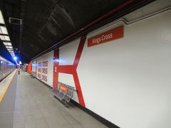 目的地のKing Cross駅に到着しました。