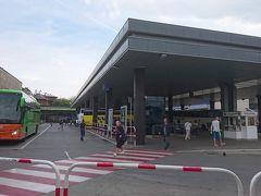 17時、バスはクラクフ本駅東隣のMDAバスターミナルに到着。  ちょうど1時間30分の乗車時間でした。