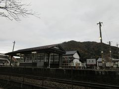 竹田駅の裏側です。ノスタルジックな雰囲気がありました。