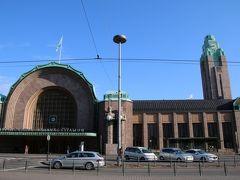 ヘルシンキ 中央駅へ。