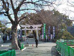 加藤神社。名将加藤清正公が祀られている。