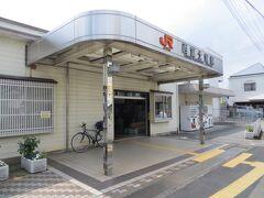 13:04 西富士宮駅に来ました。紙の地図がないので観光地図、特に富士山周辺の地図がないか探してみますが、何もありません。動作の不安定なMAPS.MEだけが頼りです。