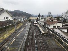 飛騨古川駅跨線橋