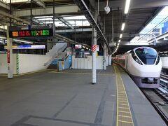 常磐線特急だから、中央線ならば東京駅でも乗り換えられるけど、そりゃあ当然、始発駅から乗るでしょう(笑)