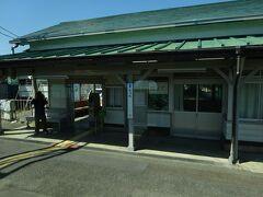 竜田駅。 長いこと暫定の終着駅だった。 その関係で、3回ぐらい乗り降りしたことがある。