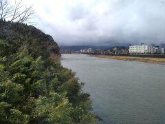 ここで「しんぺい号」は球磨川を渡る。