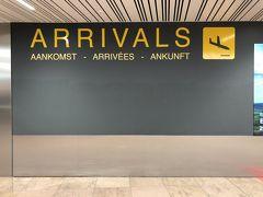 15時20分、ブリュッセルに無事到着。ほぼ定刻通り。