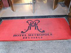 ホテル到着! 駅からは少し歩きますが、メトロポールホテルに宿泊。 老舗!なんでしょうか?