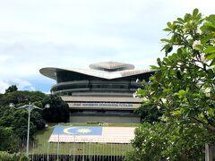 すっごく大きなドームが目の前に。 プトラジャヤ・インターナショナル・ コンベンション・センター