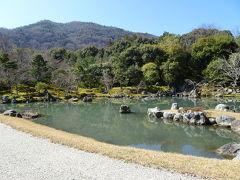 竹林の小径を抜けて、天龍寺にやってきました。 天龍寺の庭は借景と言って、後ろに見える山も庭の一部としてるみたいなんですね。 自然との一体感がいいと思いました。