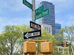 セサミストリートの標識だけを見に 63St.へ