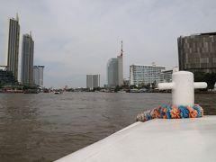 無料ボートでドブ川クルーズはこれまた観光気分(笑)