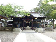 町名になっている上総の国の一の宮、玉前(たまさき)神社 新しく見えましたが、この拝殿等は江戸時代の造営だそうです。
