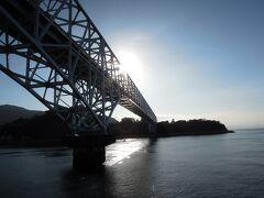 トラス橋の蒲刈大橋