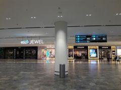 宿からは、2回ほど乗換をして、空港へ。 17時には、チャンギ空港に到着することができました。 チェックインもせず、真っ先にジュエルに向かいます。