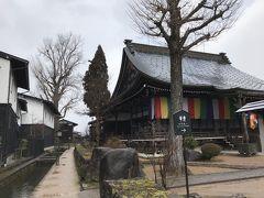 瀬戸川と白壁土蔵街。  円光寺。 山門は増島城城門の移築と言われている。