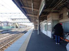 井野駅で乗り換え。 新前橋か高崎でも乗り換えられるけど、乗継時間が短いのがこの駅でした。  ローカル線は下手すると乗継で40分待ちとかもあります。そんなときは、のんびり待ちます。
