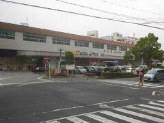 松江駅。この後、玉造温泉ゆ~ゆ前バス停を経て、出雲空港までバス旅が続きました。約9時間の行程でしたが、それぞれの滞在時間はとても短く感じました。得がたい経験ができ、ドライバーさん、ガイドさんありがとうございました。