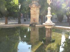 免罪の門を入ると、「オレンジのパティオ」がある。オレンジの木が植えられた中庭に、写真のアルマンソールの泉があり、祈りの前にイスラム教徒が体を清めるために沐浴を行った。
