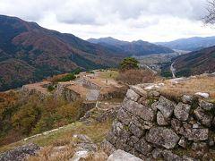 竹田城跡らしい風景だと思いました。