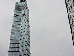 道の駅あきた港のところに建っているポートタワーセリオン 展望台は無料だというのであがってみました。
