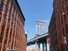 こちらが有名な写真スポットで、たくさんの人が写真を撮っていました。 ブルックリンというとこのスポットが有名ですが、この橋はブルックリン橋ではなくてマンハッタン橋です。ですが、写真映えする素敵な場所ですよね。