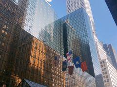 この風景よく映画とかドラマで見ますよね。 白い建物はクライスラービルで77階建てで5番目に高いビルなんだとか。 この辺りはビジネスマンも多く、電話で大きな声で話している人も見かけました。 アメリカだけではないですが、Bluetoothのイヤホンで手ぶらで話している人もいるからなんだか独り言を言ってる見たいに見えました。