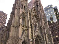 セントパトリック大聖堂。 せっかくなので、中にも入ってみました。