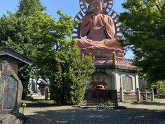 なんと大仏があります。常福寺だそうです。